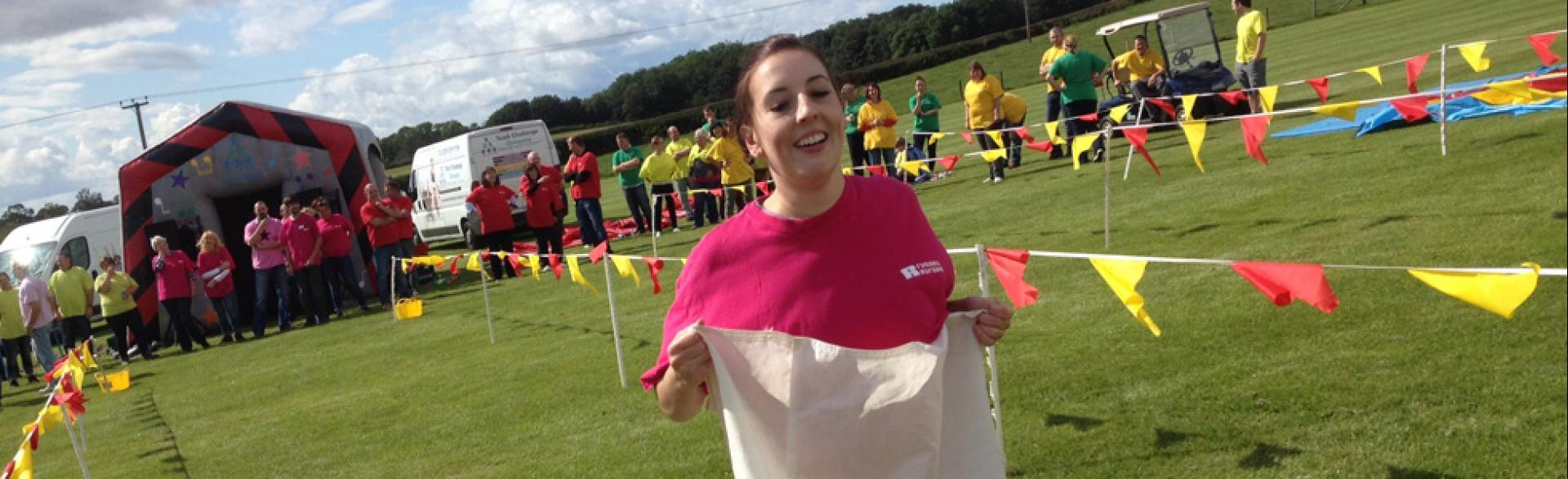 It's a Knockout, Fife, August 2014