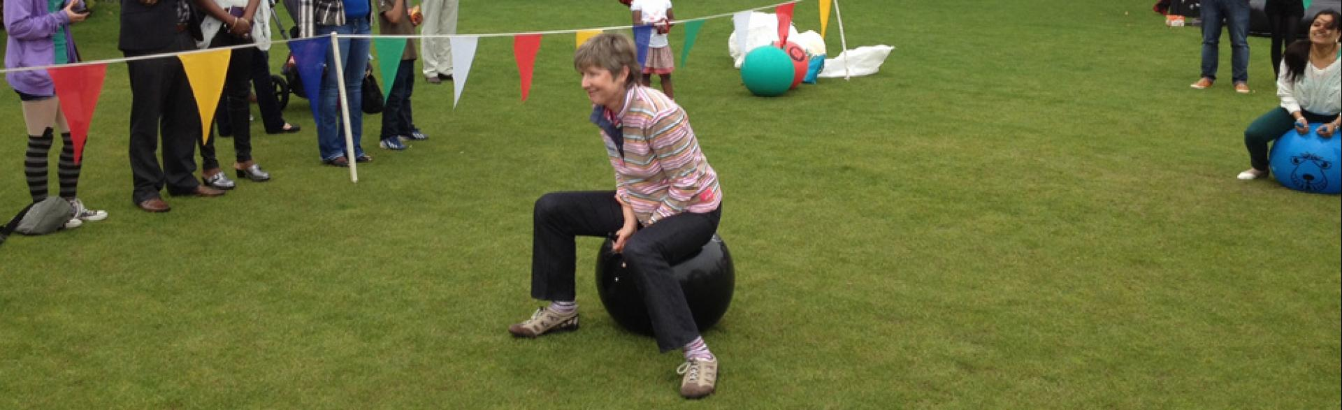 Corporate Fun Day, Aberdeen, September 2014