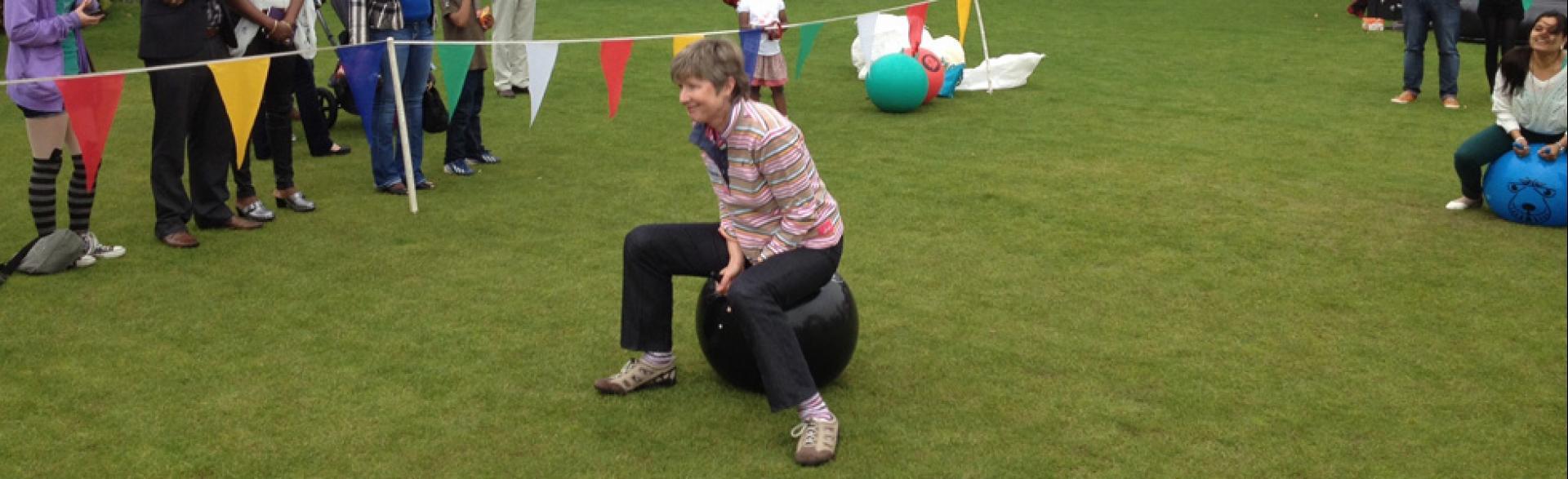 Corporate Fun Day, Aberdeen, September 2014