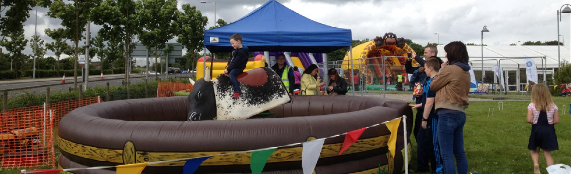 Corporate Family Fun Days, Aberdeen, June 2014