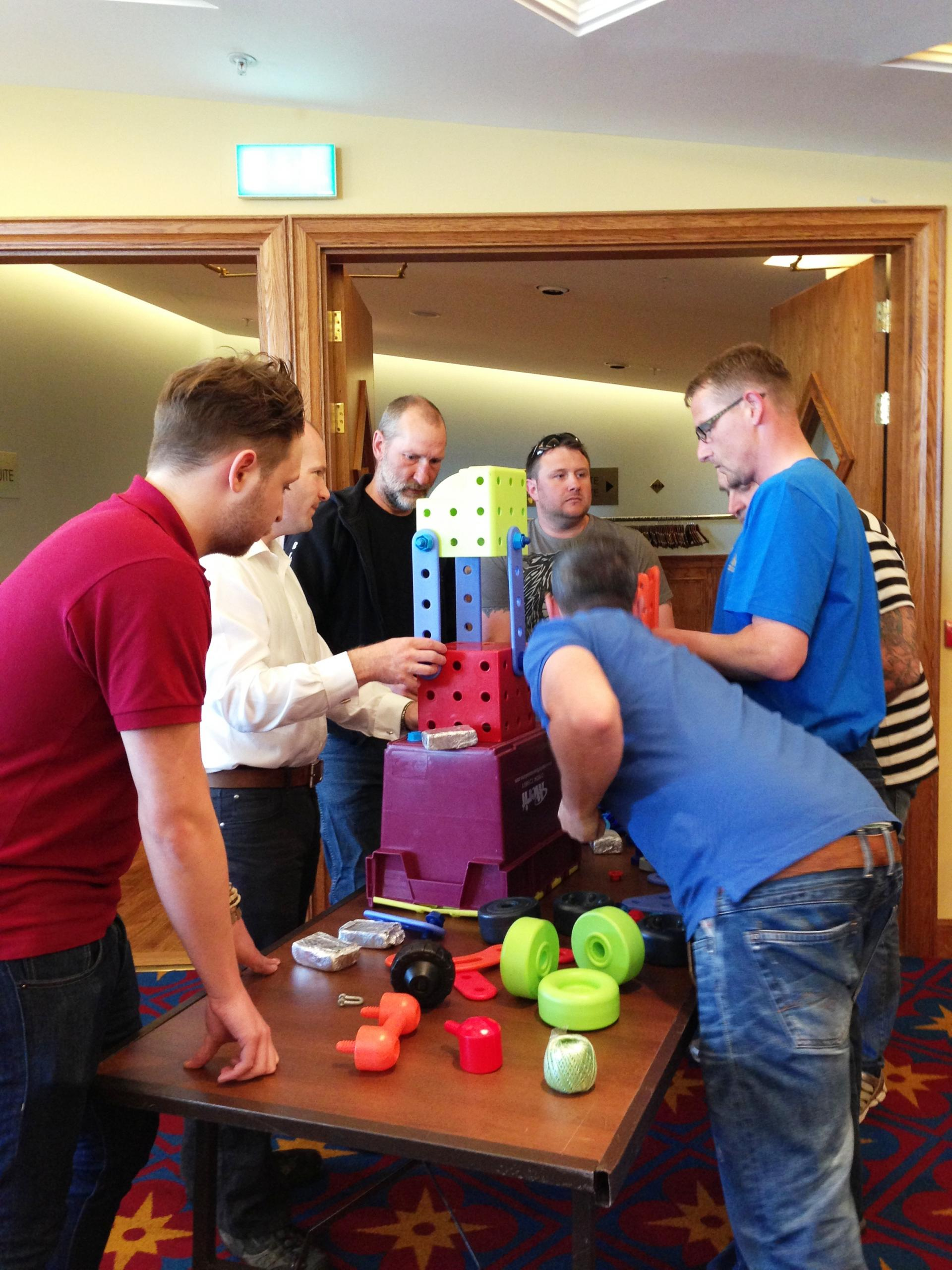 Team Building with Siemens UK
