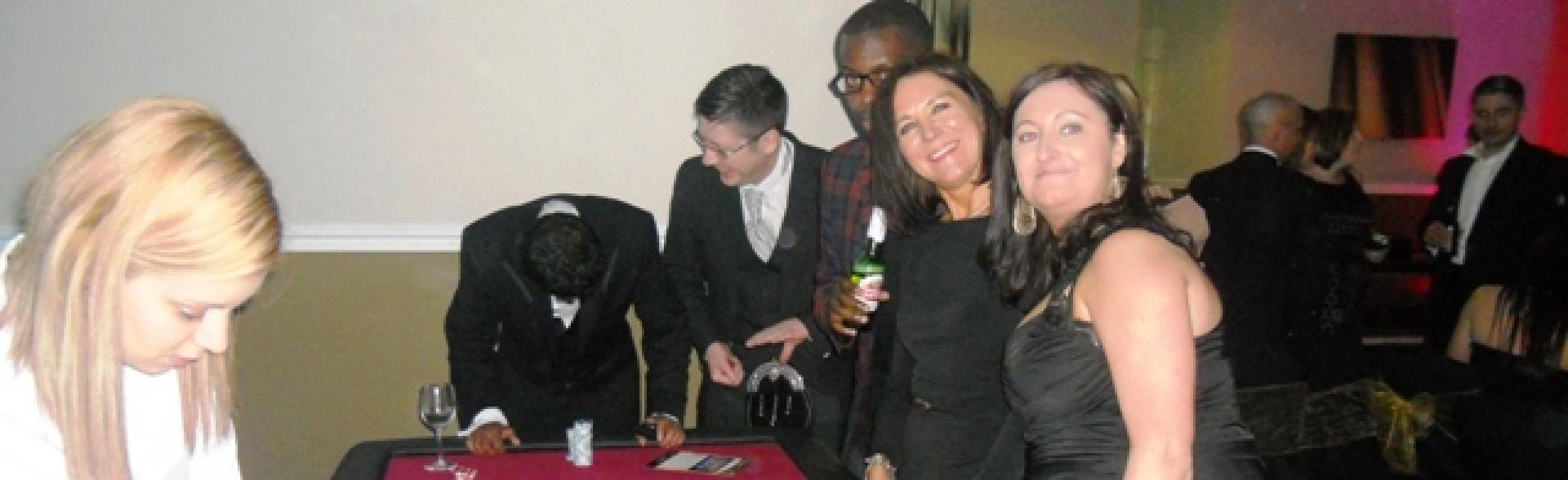Team Building Events - Fun Casino Night Awards Ceremony with Search Consultancy