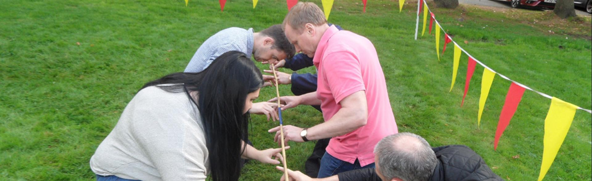 Team Building, Aberdeen, September 2014
