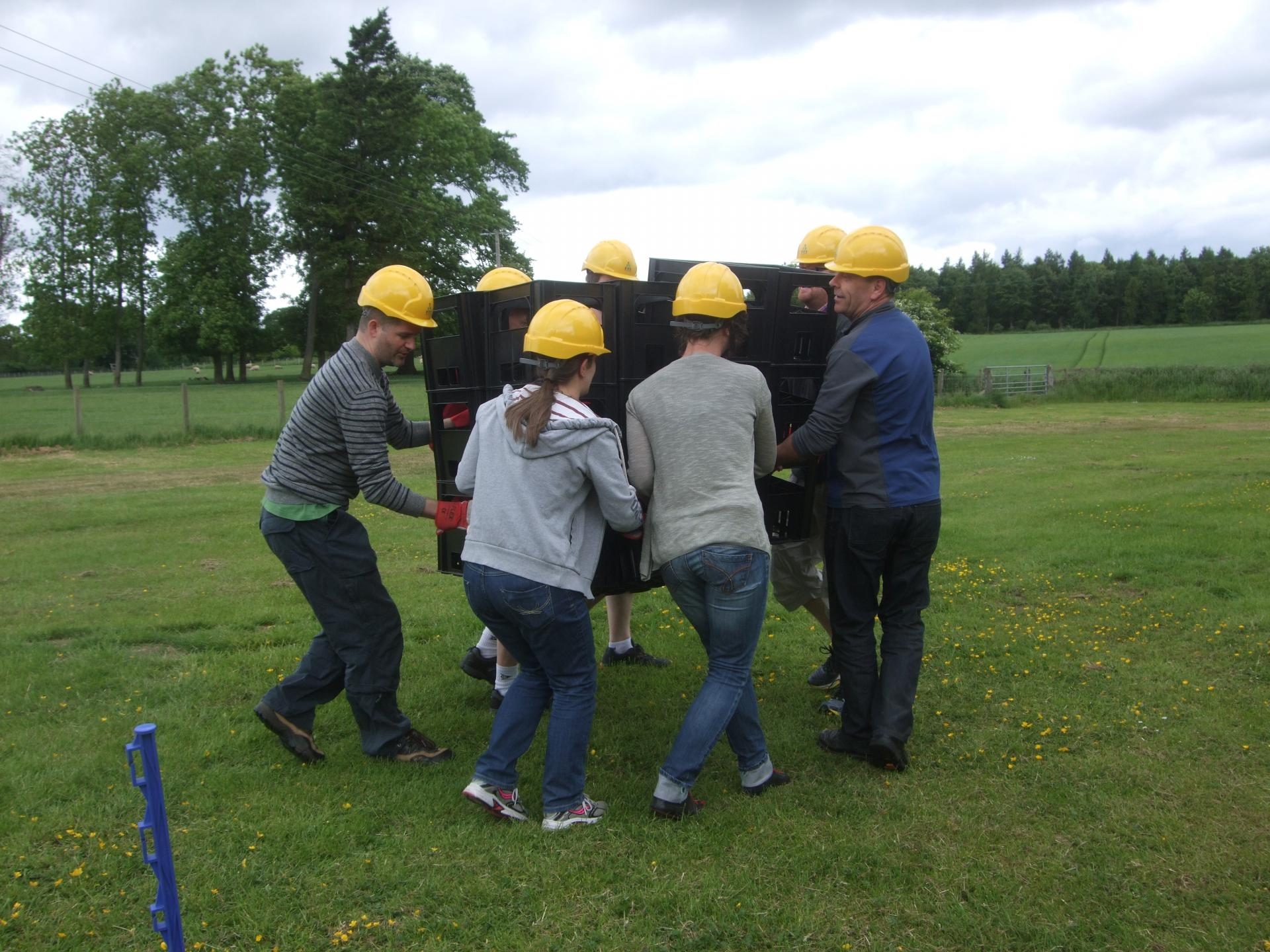 Outdoor Team Building with Standard Life