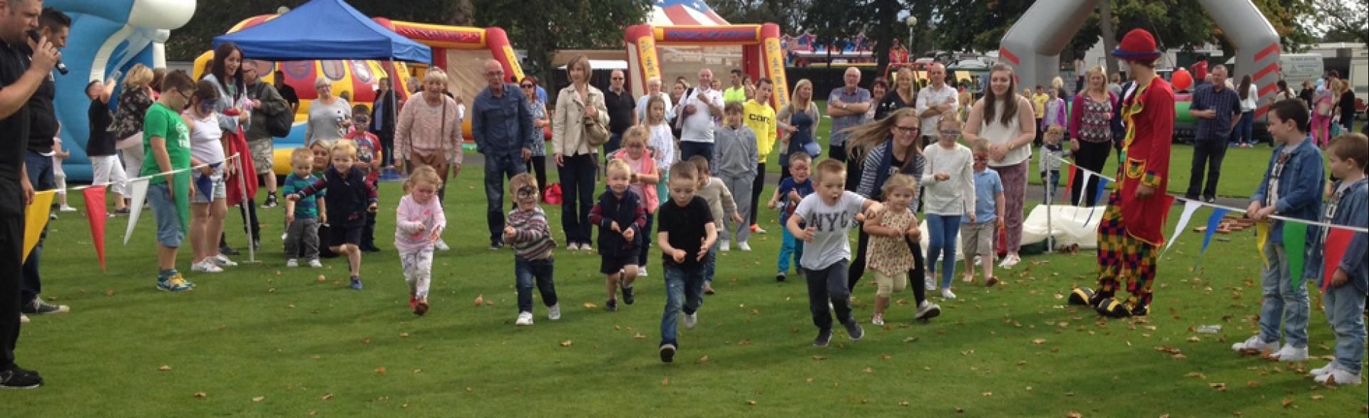 Corporate Fun Day, Hamilton, September 2014