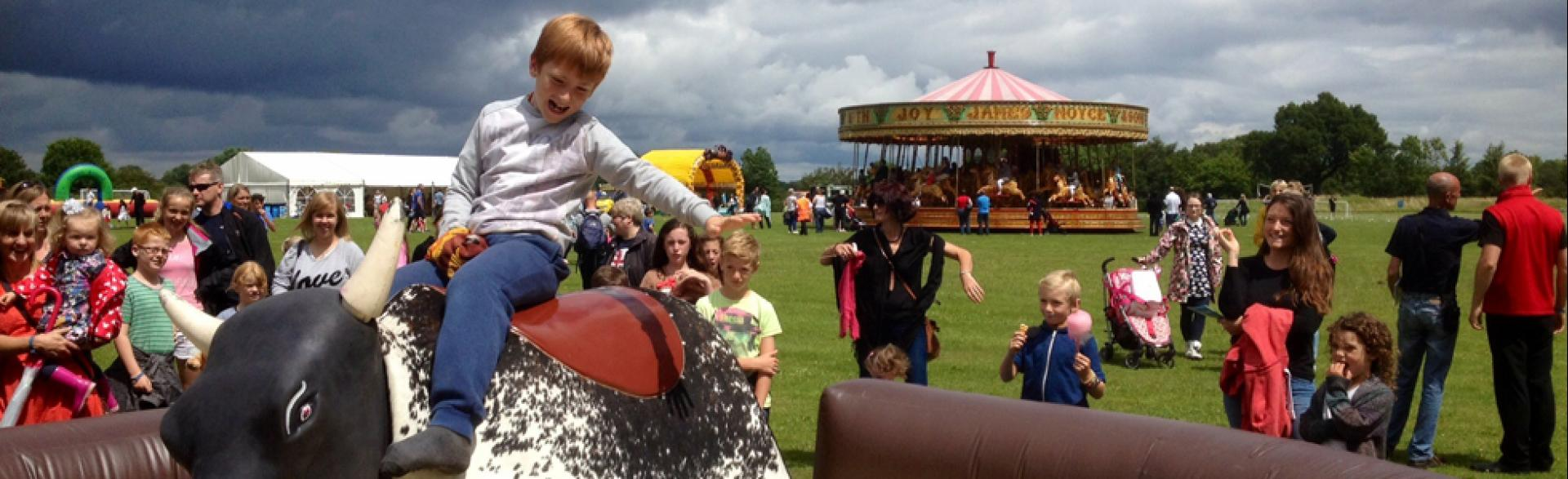 Corporate Family Fun Day, Surrey, July 2014