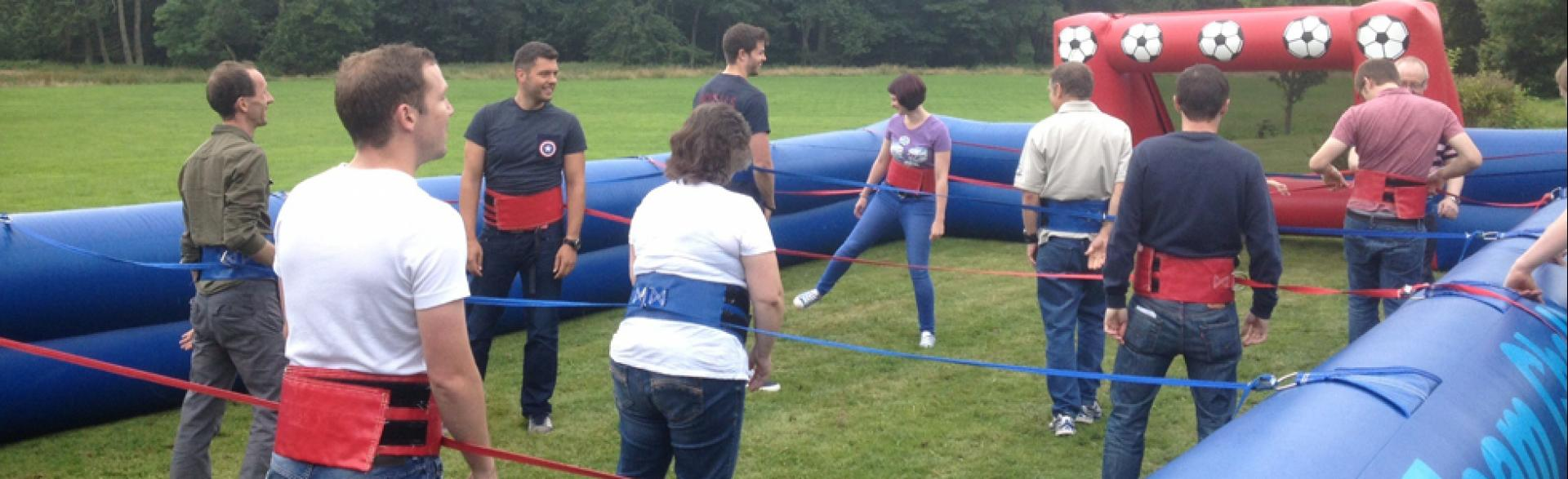 Corporate Family Fun Days, Aberdeen, August 2014