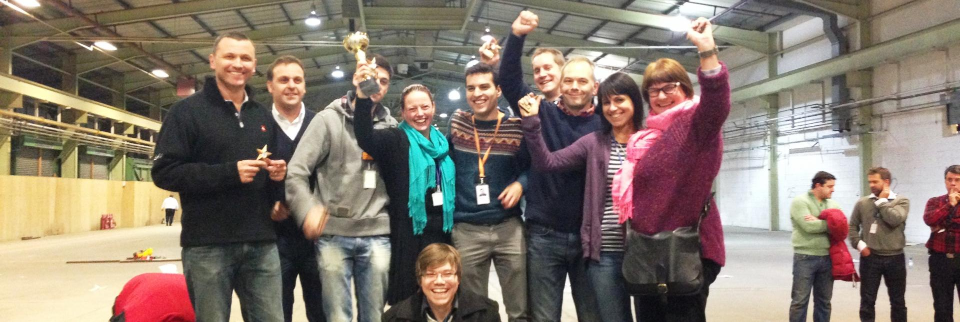 Top Gun Flight School Team Building with Sainsbury's