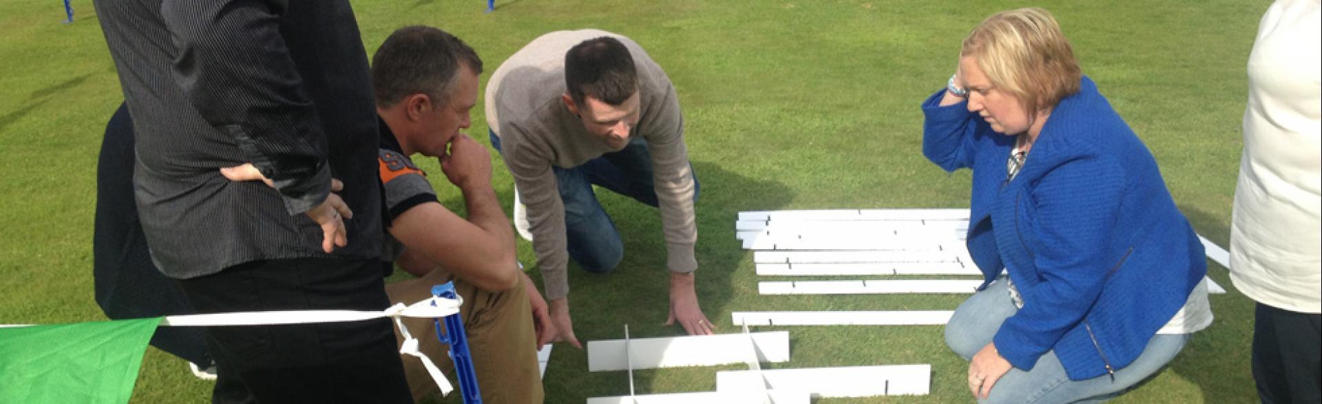 Team Building, Renfrewshire, August 2014
