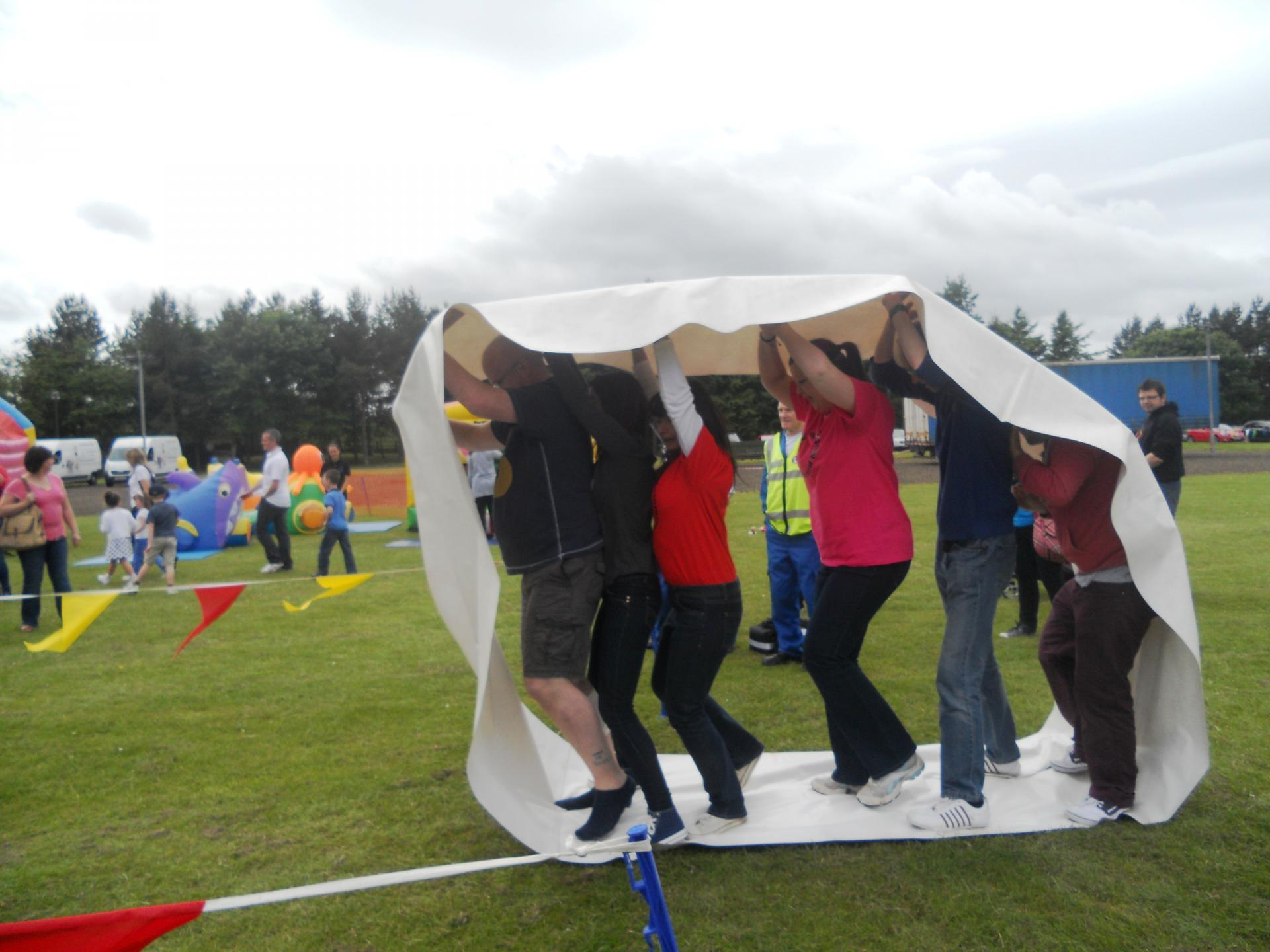 Corporate Family Fun Day with Aviva