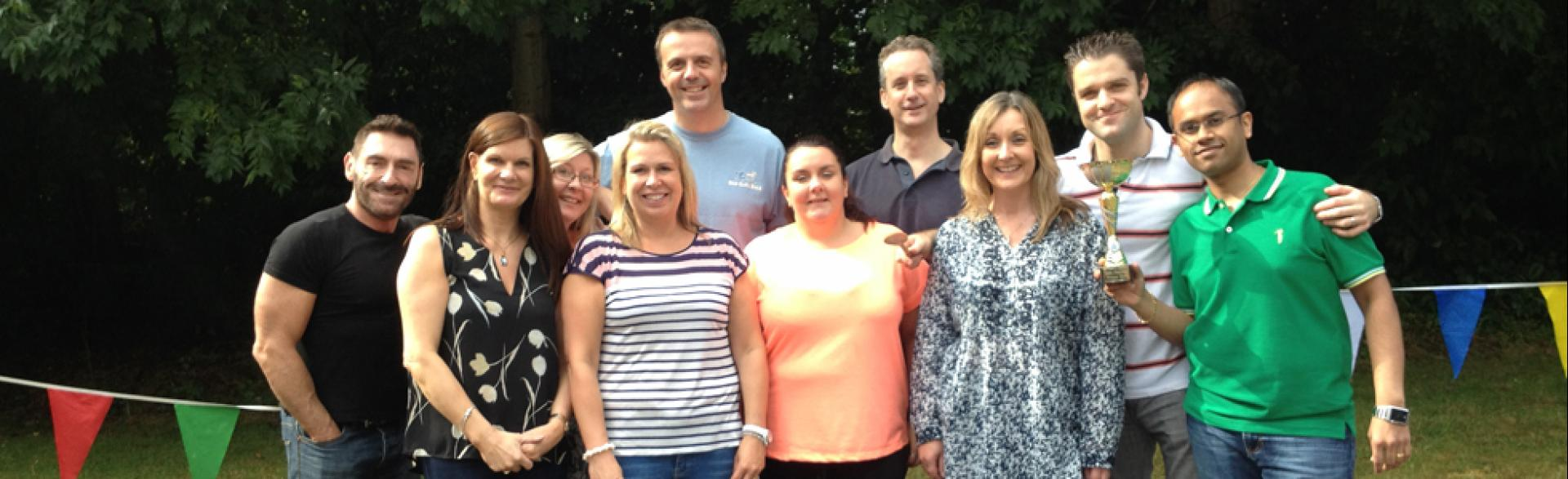 Team Building, London, July 2014