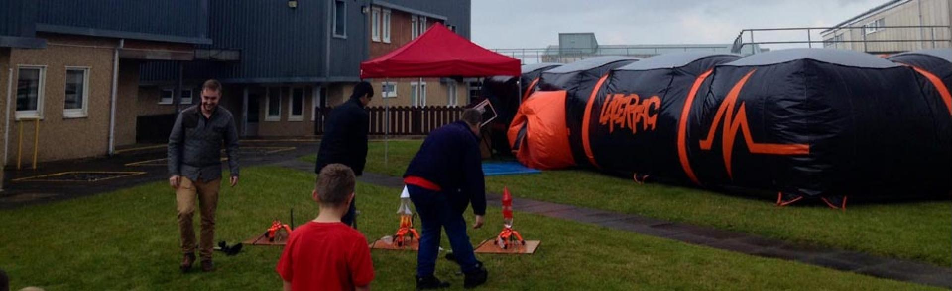 Corporate Fun Days, Benbecula, October 2014