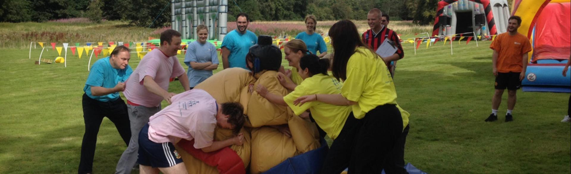 It's a Knockout, Edinburgh, August 2014