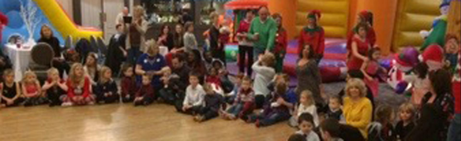 Corporate Fun Day, Aberdeen, December 2014