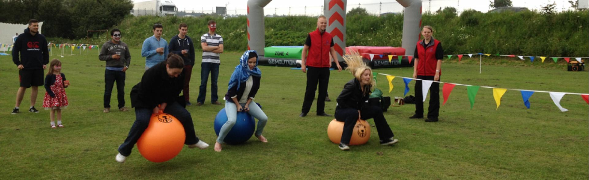 Corporate Fun Day with Ernst & Young, Aberdeen, June 2014