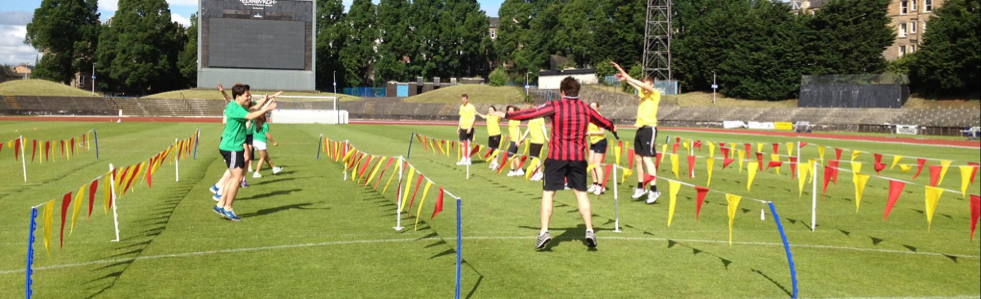 Summer Sports Day, Outdoor Team Building, Edinburgh July 2014