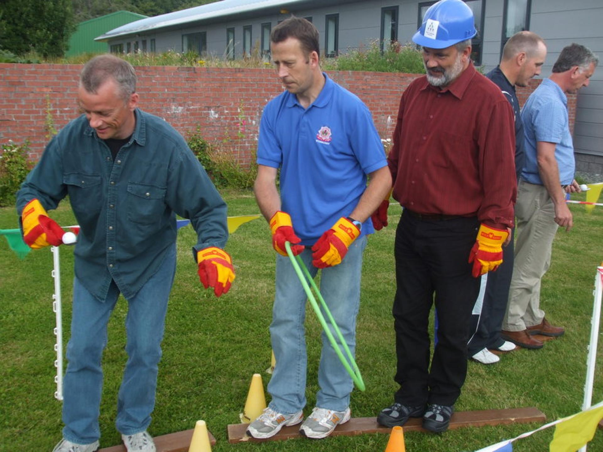Lews Castle College Team Building Day
