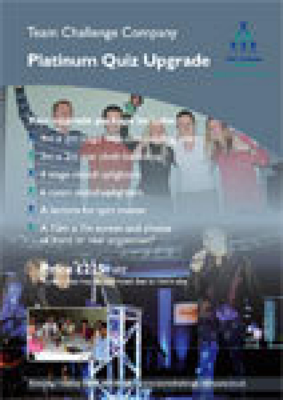 Platinum Quiz Upgrade