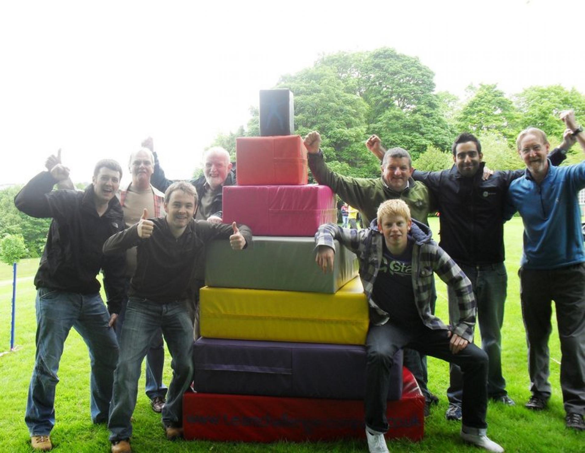 Team Building Crystal Challenge Aberdeen June 2010 260
