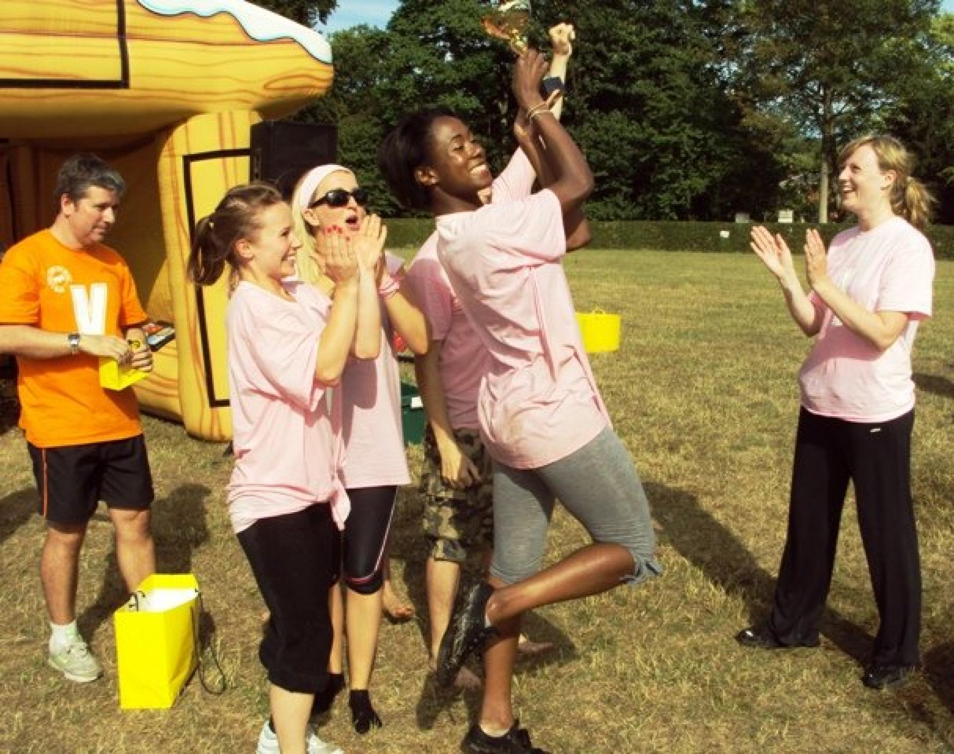 It's a Knockout with Channel 5 Broadcasting