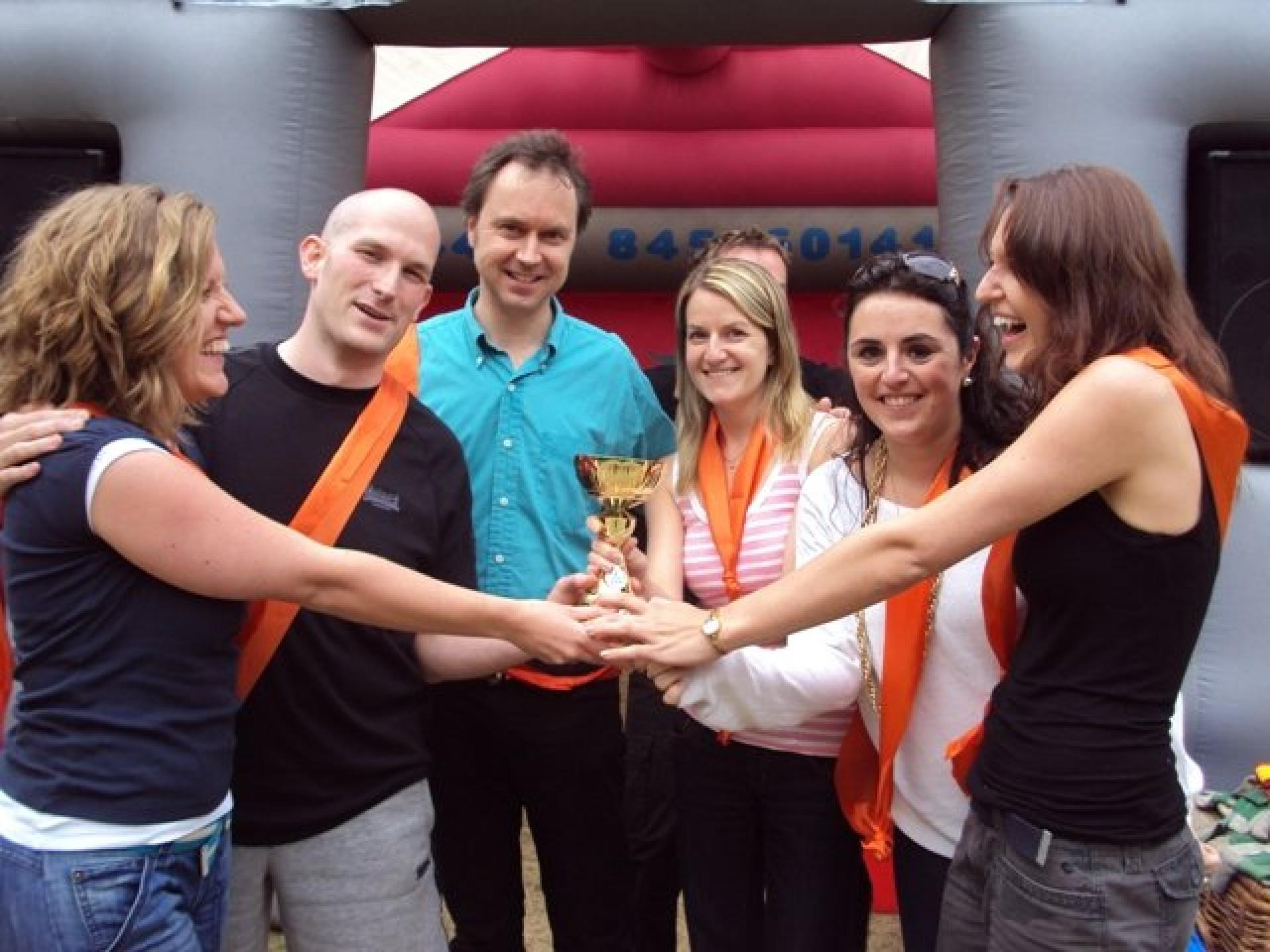 It's a Knockout and Team Building with GHK