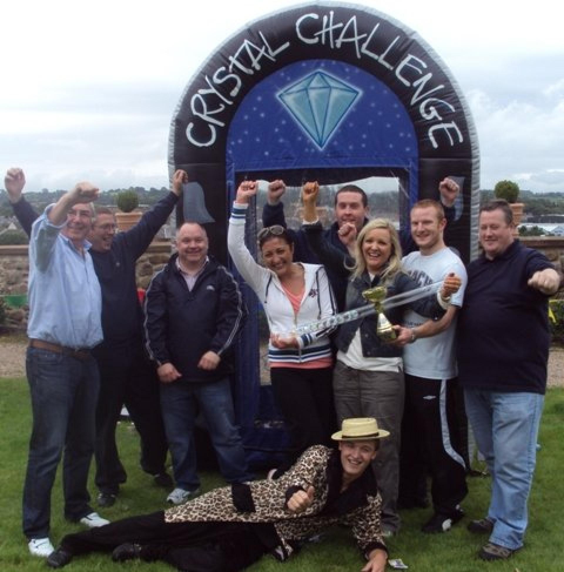 Team Building Crystal Challenge Belfast August 2010 058