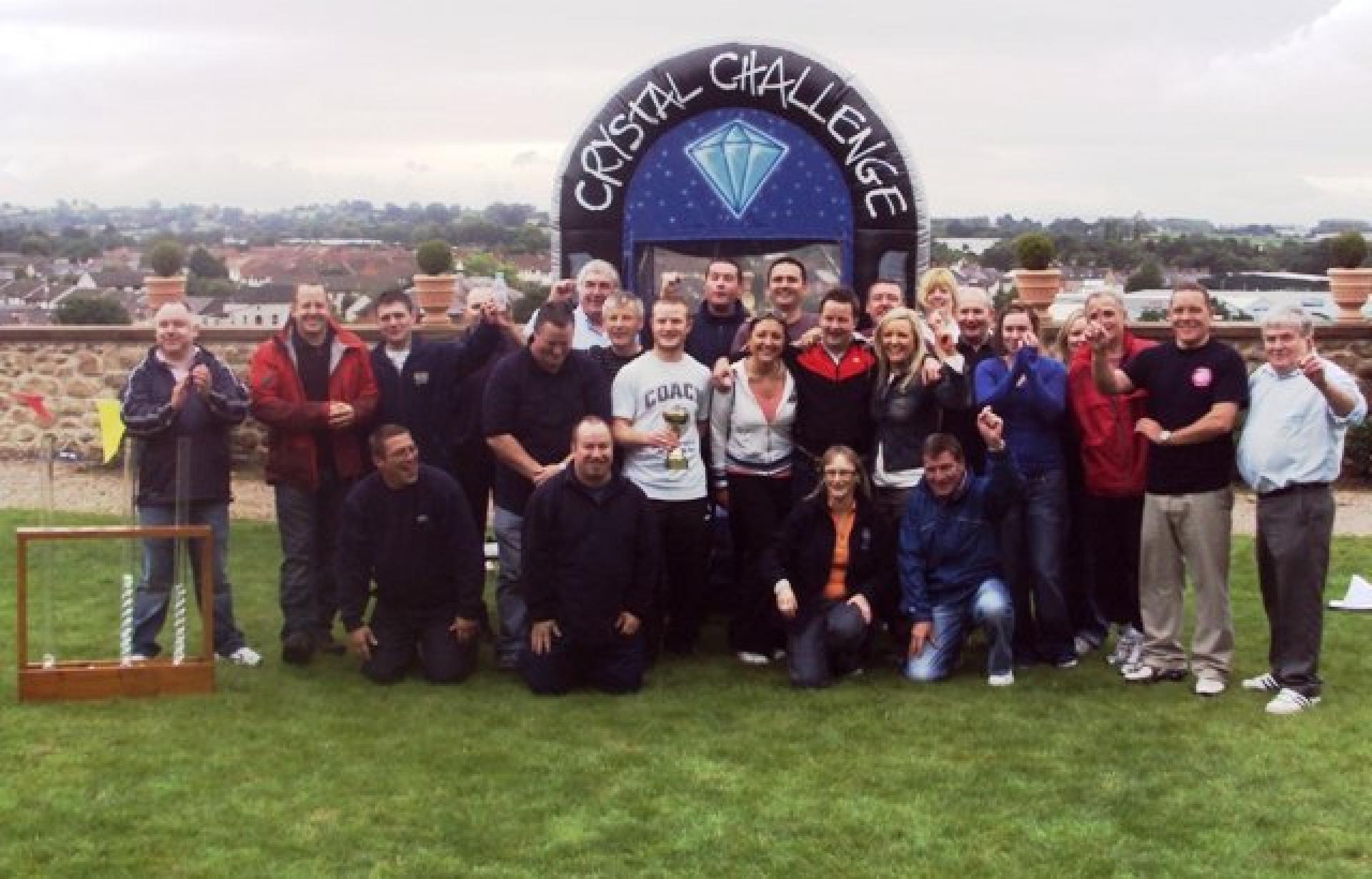 Team Building Crystal Challenge Belfast August 2010 061