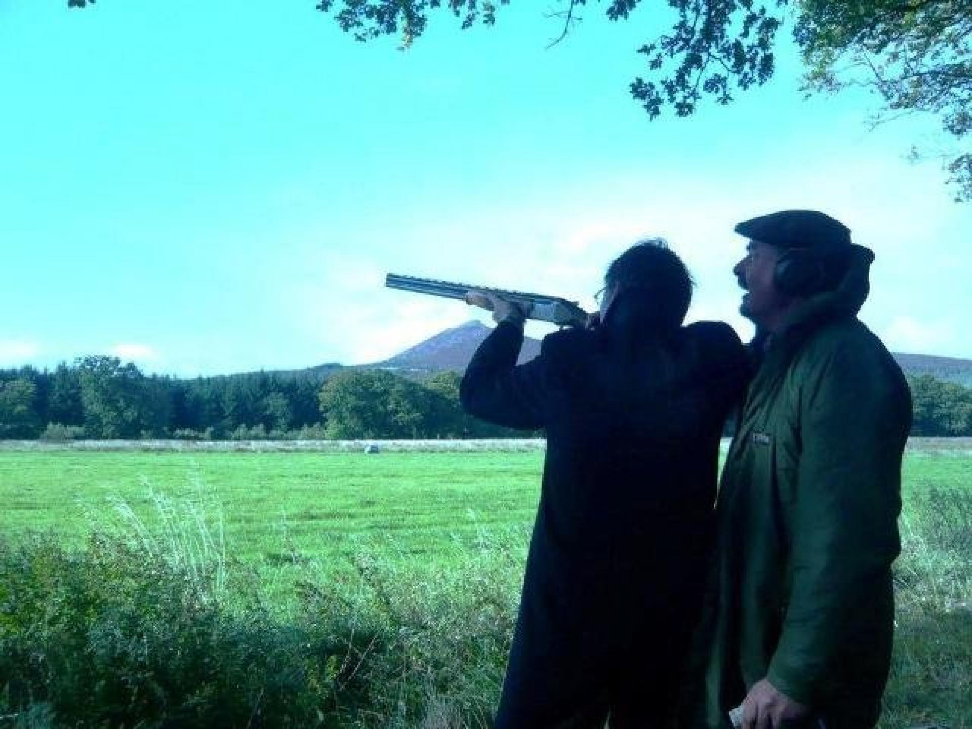 Team Building Clay Pigeon Shooting Aberdeen September 2010 10