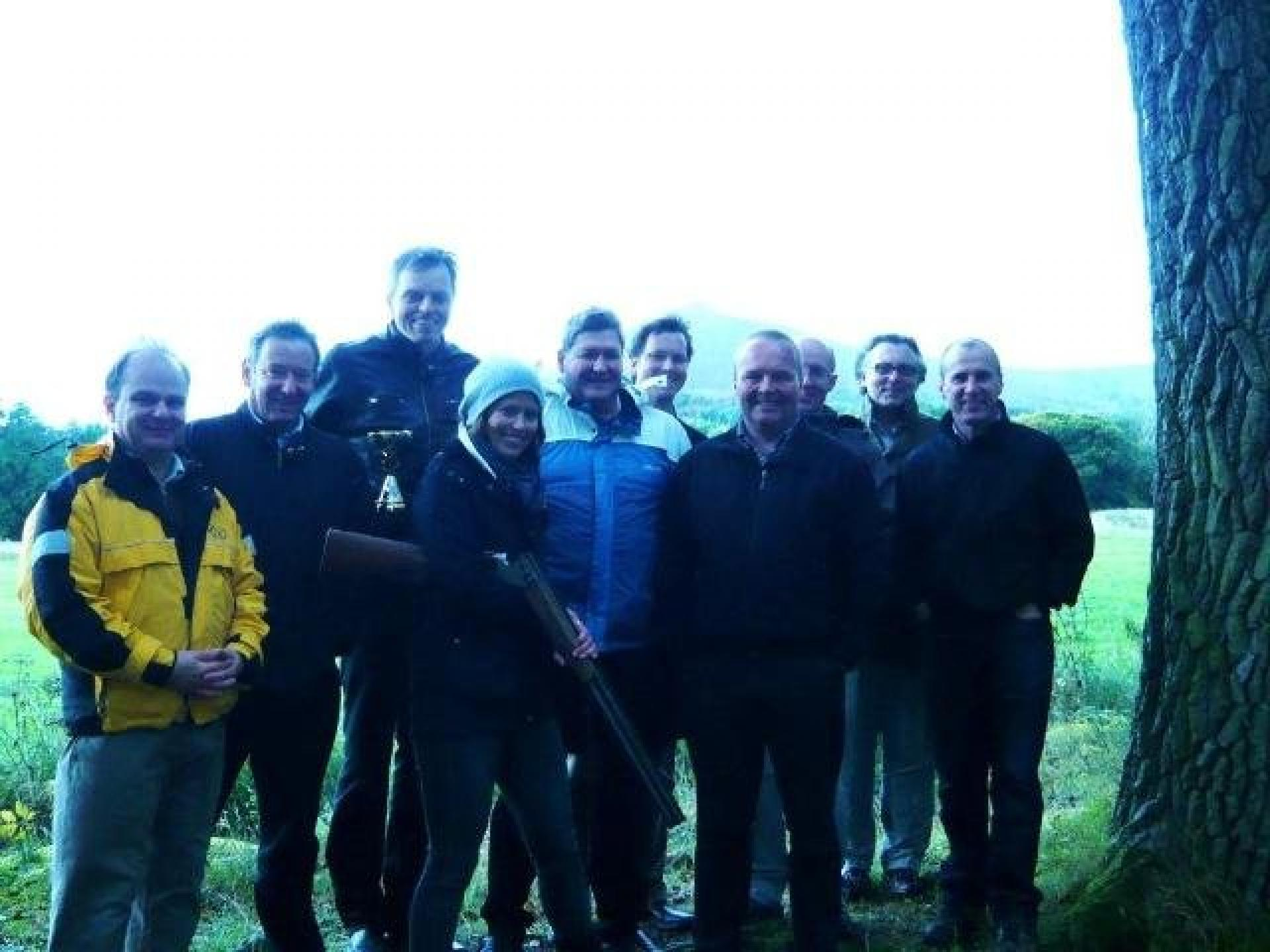 Team Building Clay Pigeon Shooting Aberdeen September 2010 16