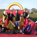 Fantastic Fancy Dress was displayed on the 80ft Giant Inflatable Assault Course