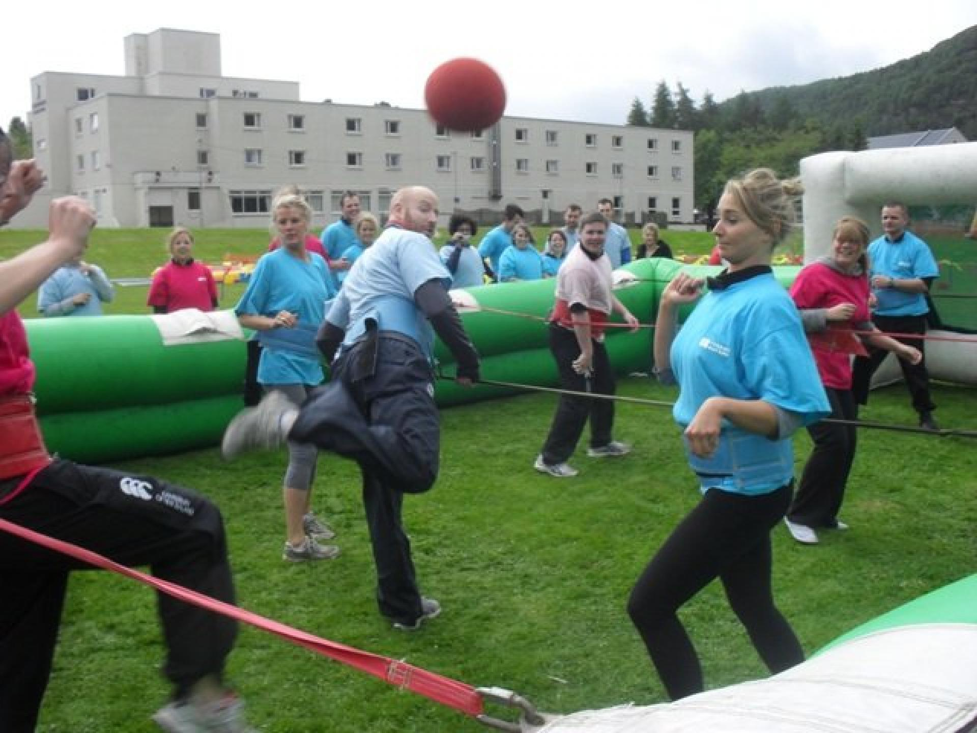 Team Building It s a Knockout Aviemore May 2011 230 web