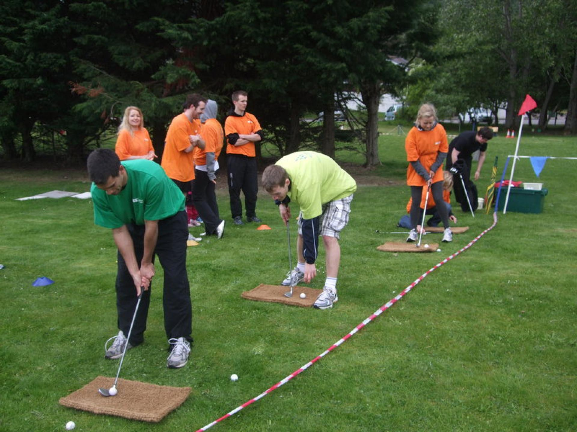 Team Building It s a Knockout Aviemore May 2011