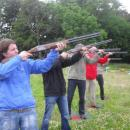 Laser Clay Pigeon Shooting, Corporate Family Fun Day Target Zone Activity, Aberdeen