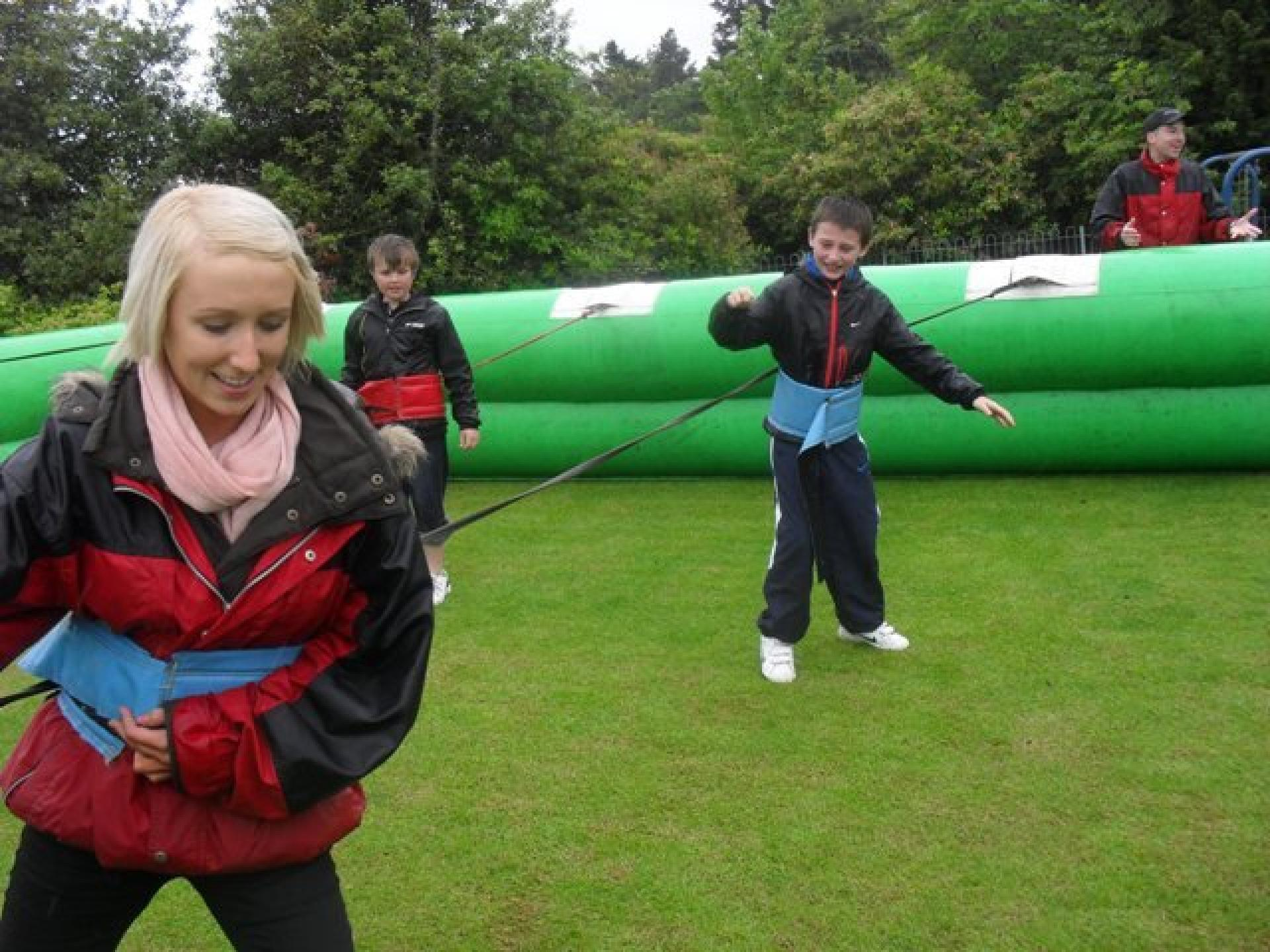 Inflatable Fun, Human Table Football Scotland
