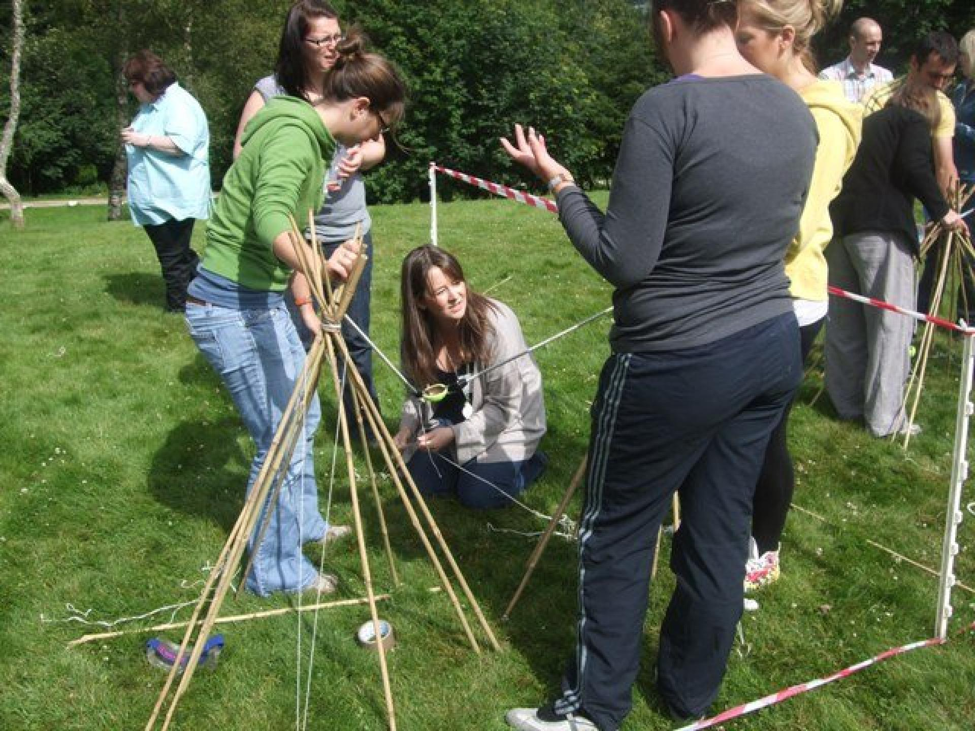 Team Building Aberdeen 15 July 2011