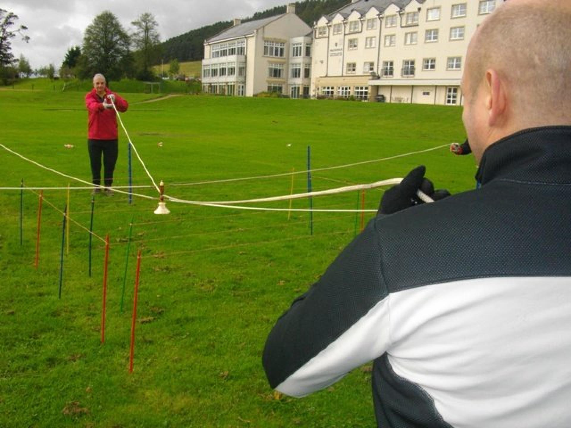 Team Building Crystal Challenge Peebles October 2011