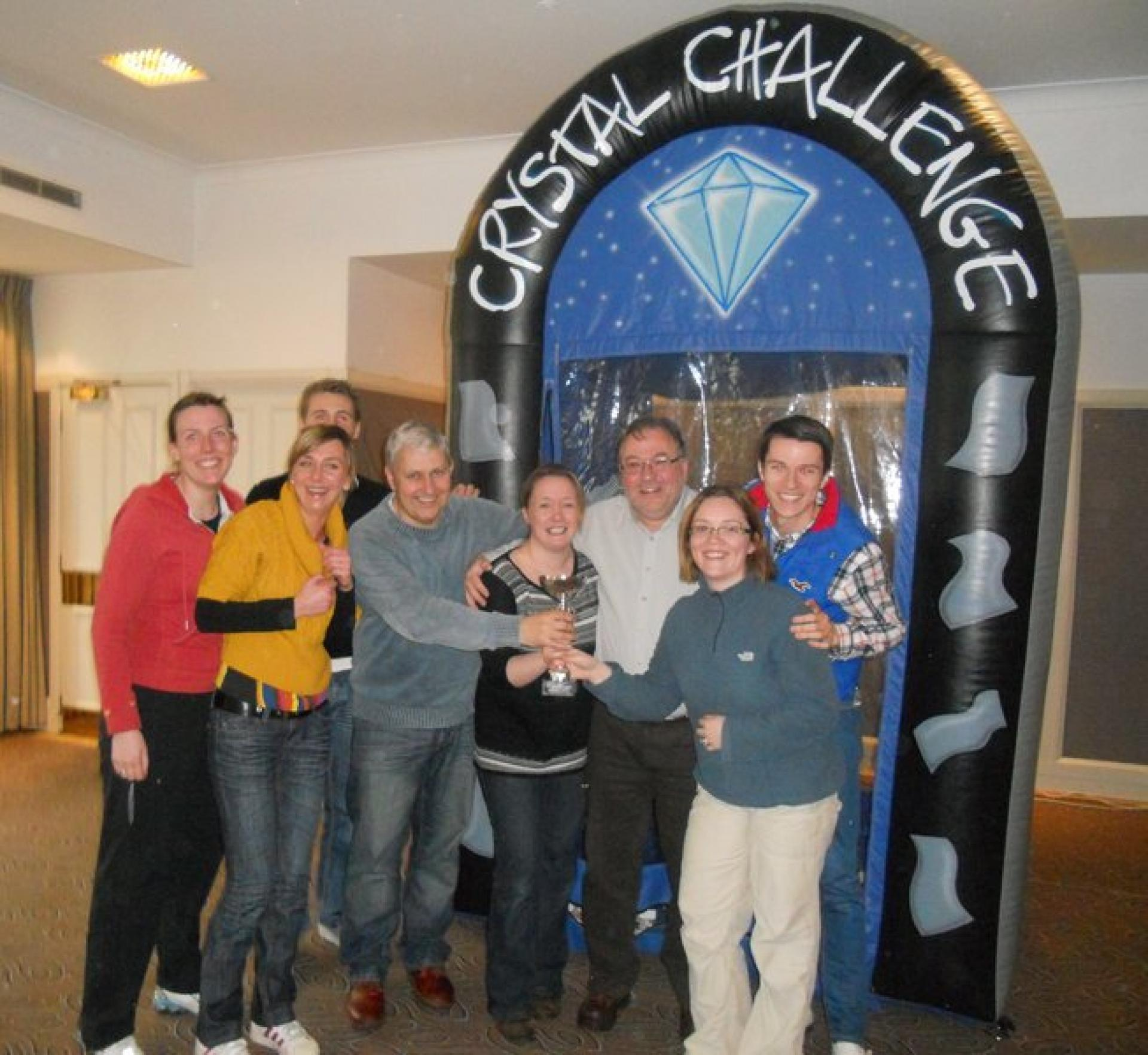 Team Building Crystal Challenge Aberdeen April 2012