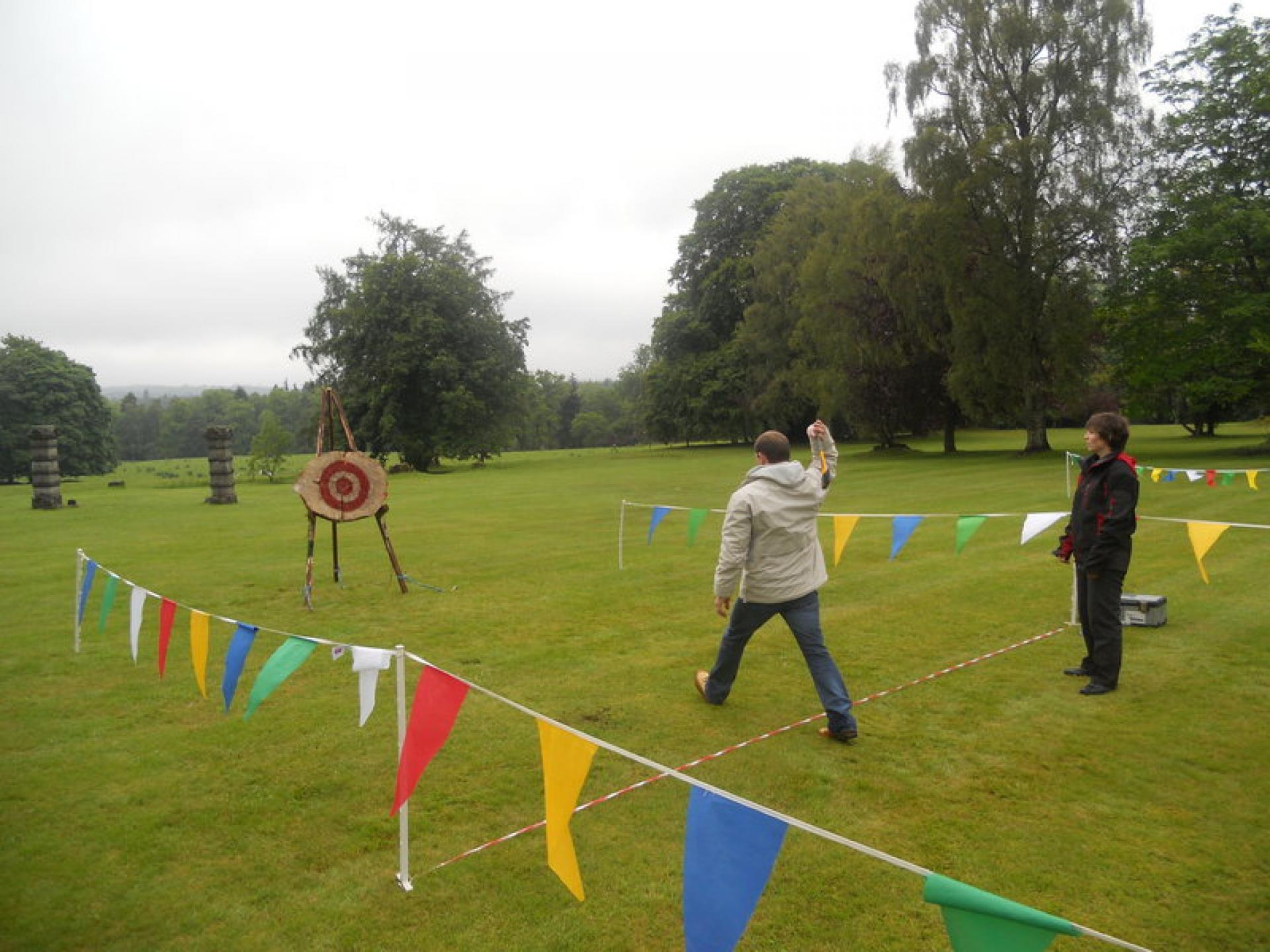 Corporate Entertainment Banchory June 2012