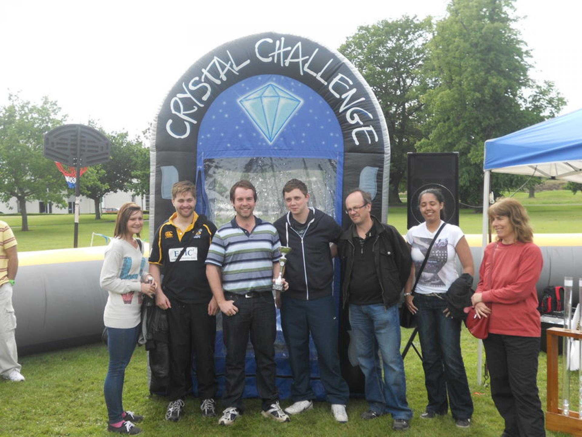 Spire Healthcare's Crystal Challenge Team Building Away-Day