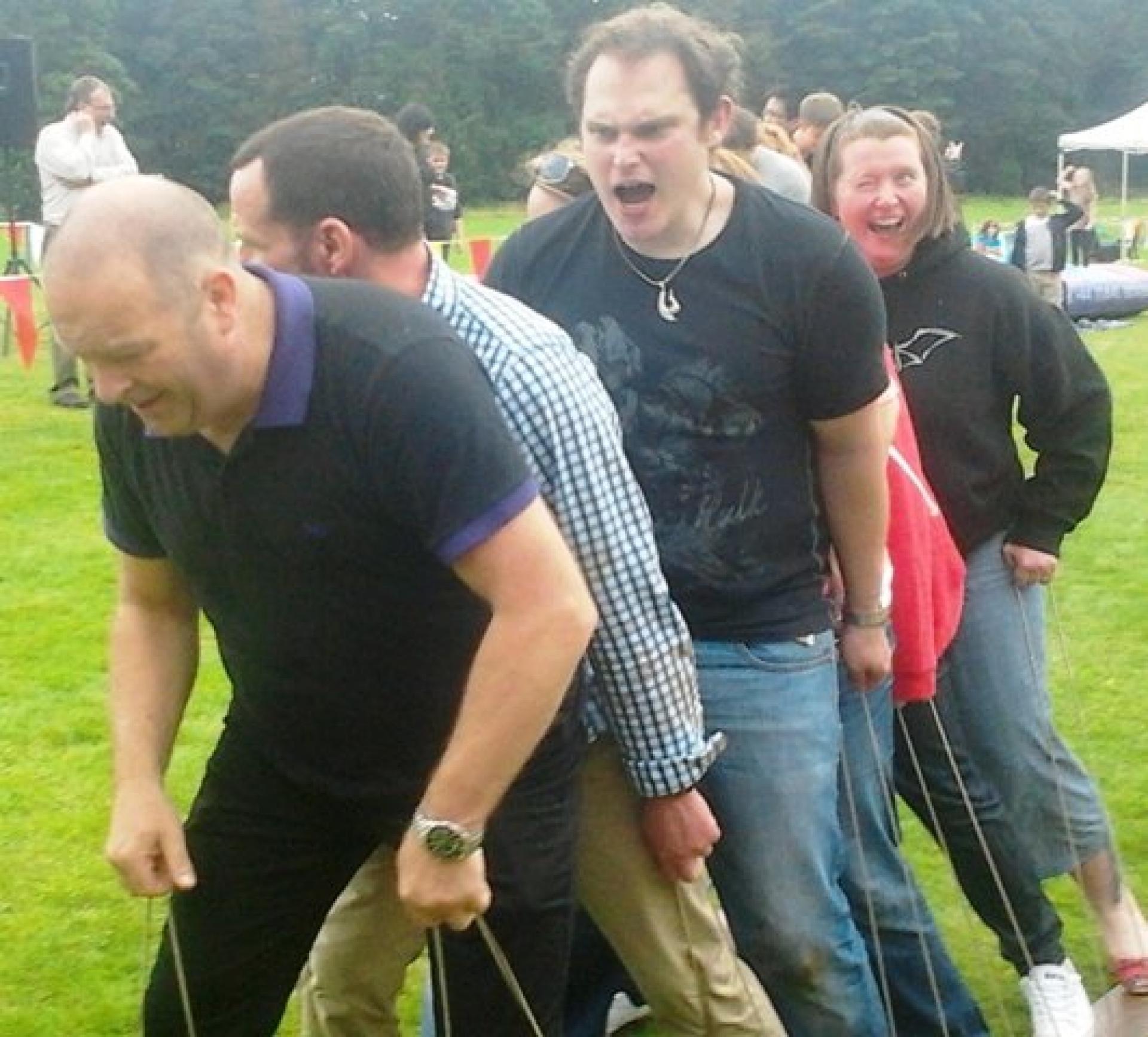 Corporate Family Fun Day Aberdeen September 2012