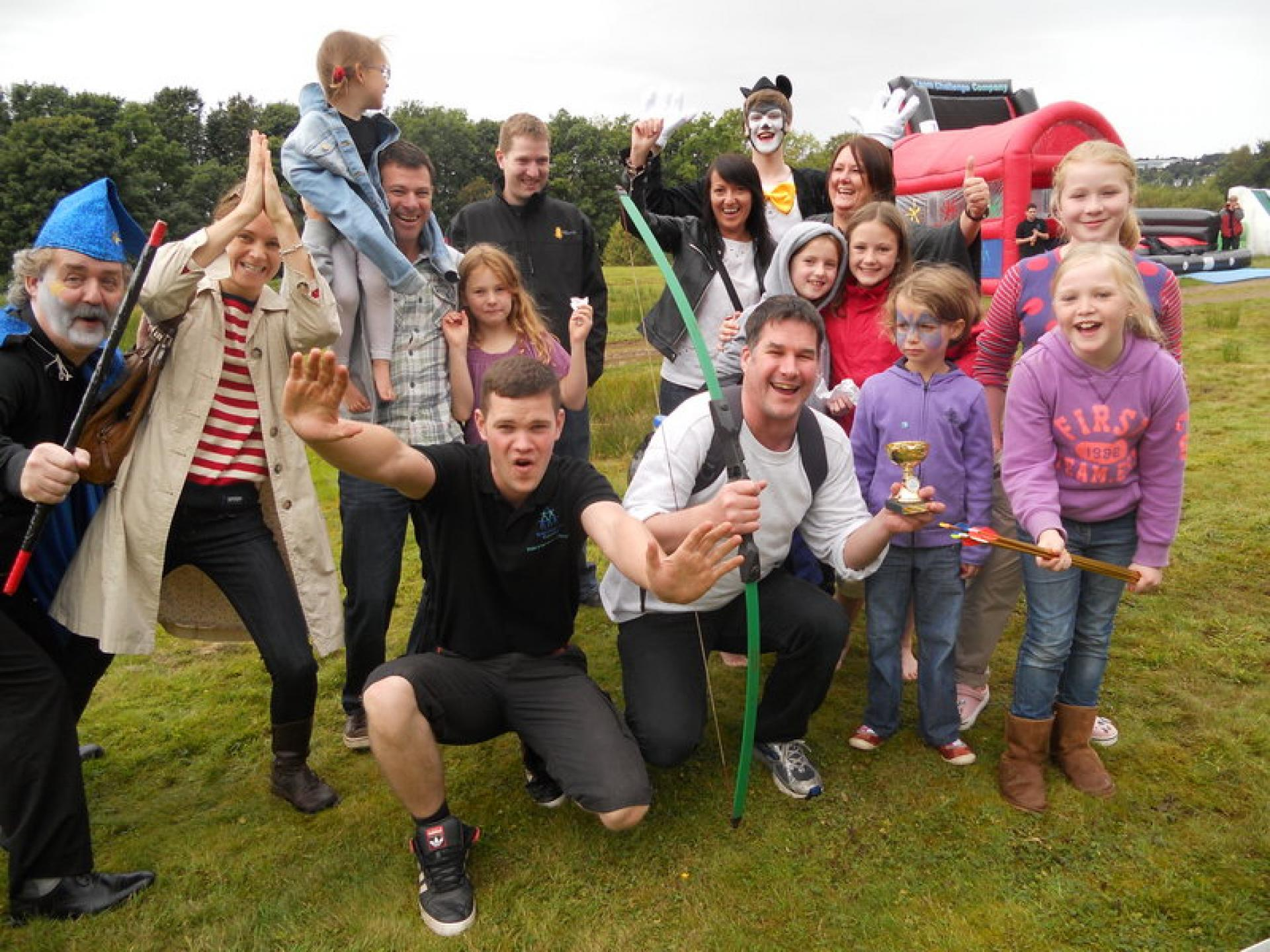 Corporate Family Fun Day Aberdeen September 2012
