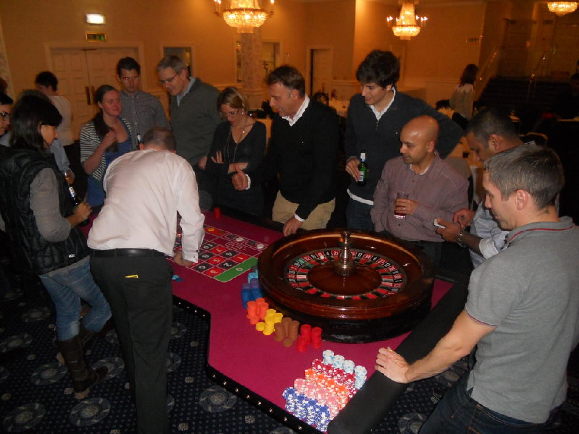 Fun Casino Night with Technip
