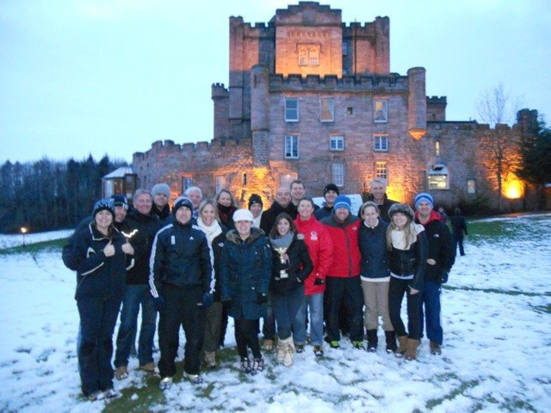 Team Building Edinburgh January 2013