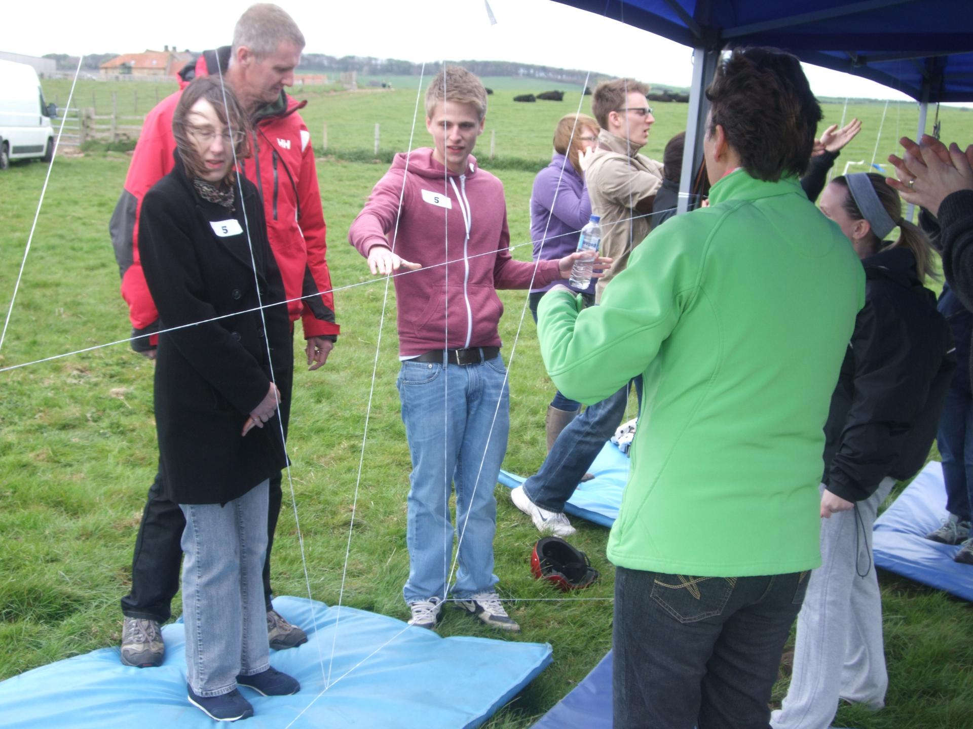 Team Building Crystal Challenge with DE Ford Insurance Brokers