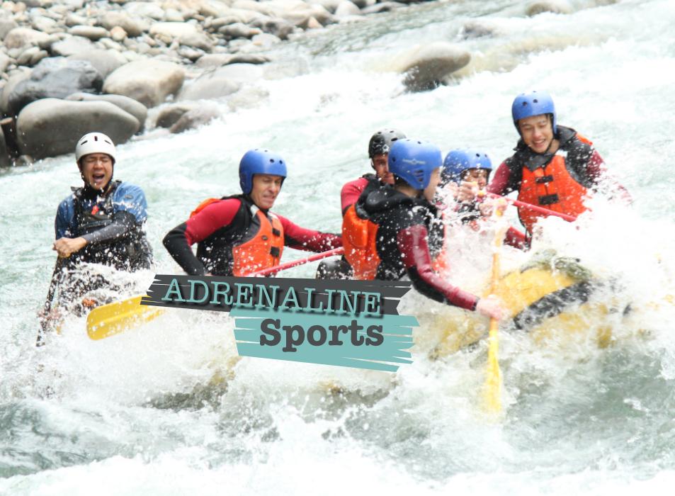 Adrenaline Sports Team Challenge Company